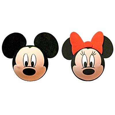 Mickey Mouse and Minnie Mouse Faces Antenna Toppers: Automotive