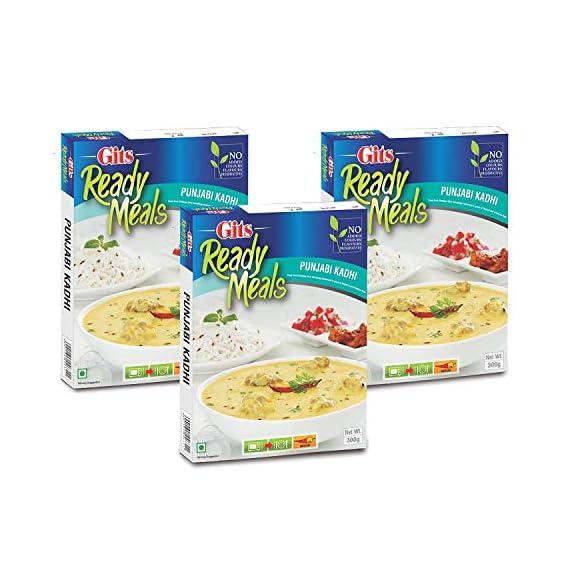 Gits Ready to Eat Punjabi Kadhi, 300g (Pack of 3)