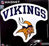 Minnesota Vikings ARCH Style Logo 12'' Magnet Heavy Duty Auto Home NFL Football