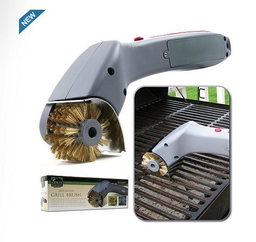 Chef Buddy Cordless Motorized Outdoor Grill Cleaning Brush 1.0 ea Pack of 3 by Chef Buddy