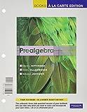 Prealgebra, Bittinger, Marvin L. and Ellenbogen, David J., 0321771850