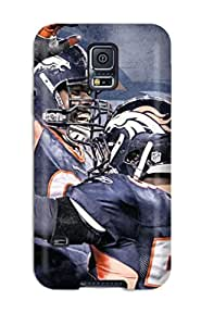 Durable Defender Case For Galaxy S5 Tpu Cover(von Miller)