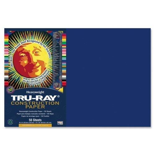 "Tru-Ray Construction Paper - 12"" x 18"" - Royal Blue"