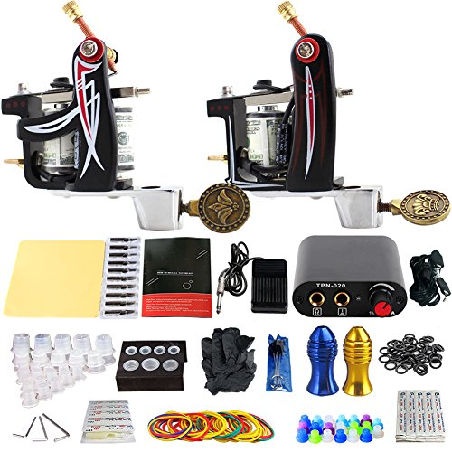 ZHLEI Factory Fable Steel Coil Machine Fabulous Machine Tattoo Fog Cut Boutique Double Machine Tattoo (Mass Fog Machine)