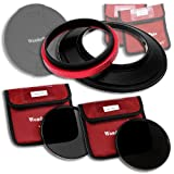 WonderPana Lens Filter Holder ND Kit Compatible with Sigma 12-24mm f/4.5-5.6 EX DG ASP HSM II Wide-Angle Zoom Lens (Full Frame 35mm)