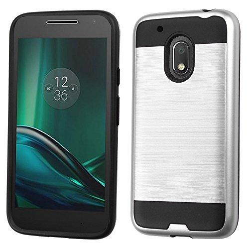 Anti-Fall Armor Phone Case for Moto G4 Play(Black) - 6