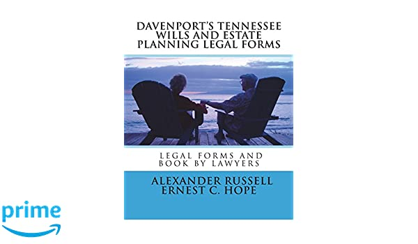 Davenports Tennessee Wills And Estate Planning Legal Forms - Tennessee legal forms
