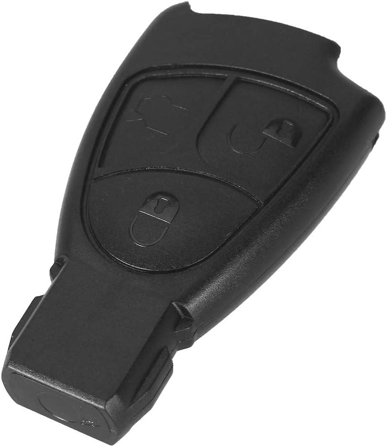 Replacement Keyless Smart Car Key Case Fob Shell For Mercedes-Benz C230 1997 1998 1999 2000
