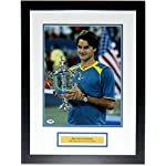 8e1b72da9a0 Sports Memorabilia.  112.49. Roger Federer Signed 11x14 Photo - PSA DNA COA  Authenticated - Professionally... Roger Federer. TENNIS ...