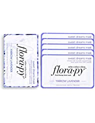 Florapy Beauty Sweet Dreams Sheet Aromatherapy Mask, Yarrow Lavender, 5 Count