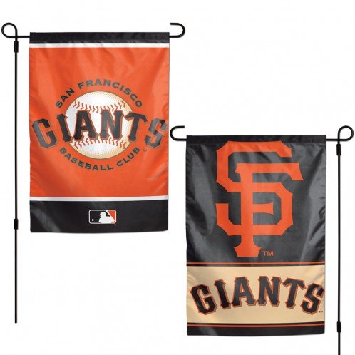 (WinCraft MLB San Francisco Giants Flag12x18 Garden Style 2 Sided Flag, Team Colors, One Size)