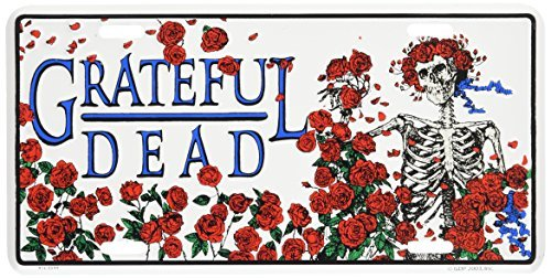 Grateful Dead Bear GRATEFUL DEAD BEAR license plate SKULL & ROSES LICENSE PLATES
