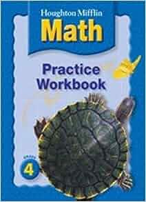 houghton mifflin math practice book grade 4 houghton mifflin 9780618698776 books. Black Bedroom Furniture Sets. Home Design Ideas