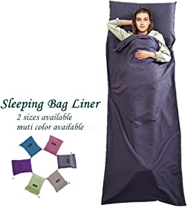 Sleeping Bag Liner Travel Camping Sheet Lightweight Hotel Compact Sleep Bag Sack