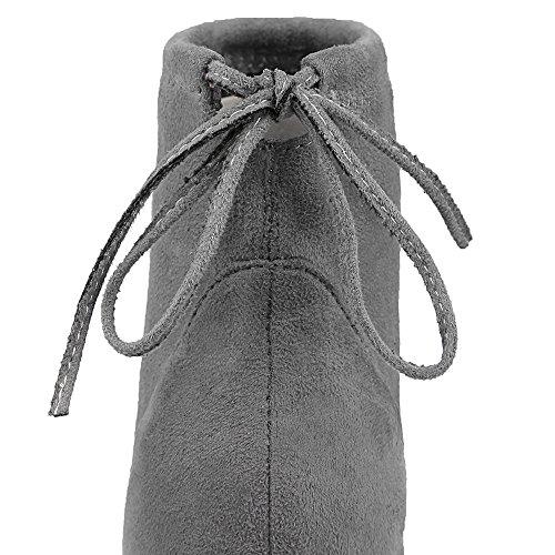 AIYOUMEI Grey AIYOUMEI Women's Classic Boot Women's Classic 5Bqw748