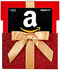 Amazon.com Gift Cards are the perfect way to give them exactly what they're hoping for - even if you don't know what it is. Amazon.com Gift Cards are redeemable for millions of items across Amazon.com. Item delivered is a single physical Amaz...