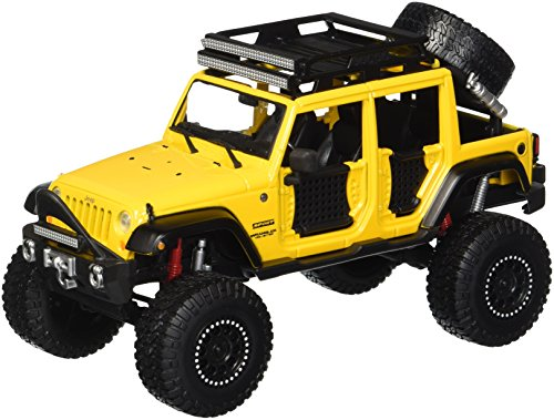 2015 Off Road Models - MAISTO 1:24 W/B - OFF-ROAD KINGS - 2015 JEEP WRANGLER UNLIMITED 32523YL