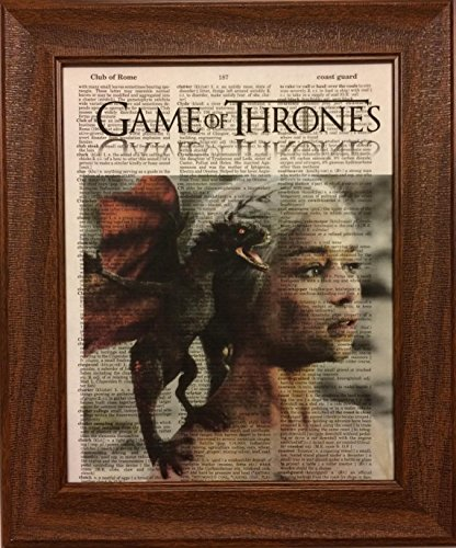 Game of Thrones Movie Series Encyclopedia Book Page Artwork
