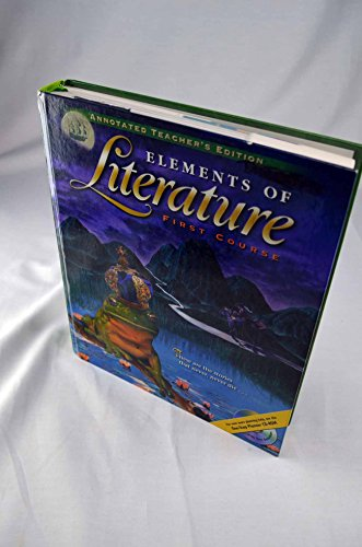 Elements of Literature, First Course (Annotated Teacher's Edition)