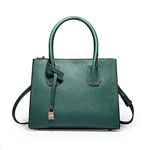 LS Spring & Summer Leder Fashion Einfache Sperre Schulter Diagonal Mobile Handtasche
