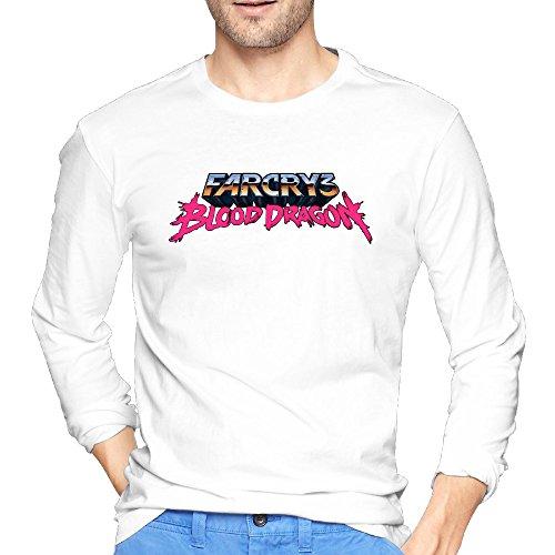 Price comparison product image Far Cry 3 Blood Dragon Logo Men's Fashion T Shirts