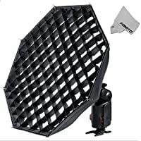 Fomito GODOX AD-S7 Multi-functional Softbox Grid for Witstro Speedlite Flash Speedlight Neewer AD180 AD360 AD360II AD200