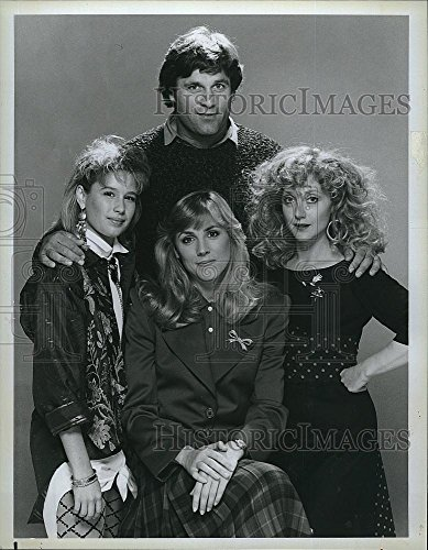 Historic Images 1986 Press Photo Terence Knox,Carol Kane,Bess Armstrong Shawnee Smith