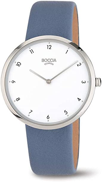 Boccia Reloj Analógico para Mujer de Cuarzo con Correa en Piel 3309-07