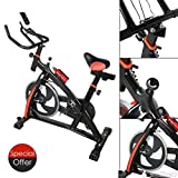 US Stock Exercise Bike Cycling Exercising Health Fitness Bicycle Stationary Cardio Indoor