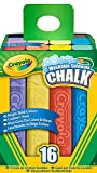 Crayola 16 Count Sidewalk Chalk, Case of 12