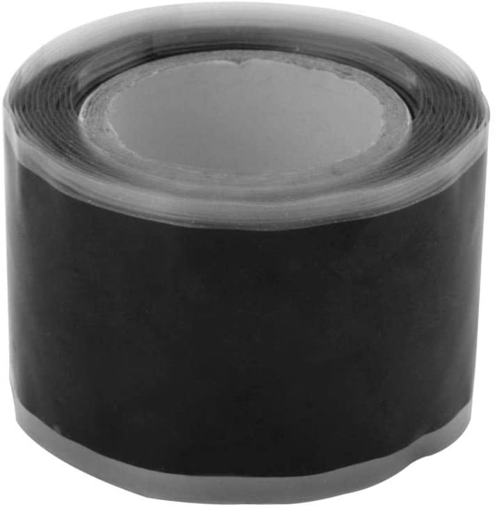 Lenght 3m with 25mm Silicone Waterproof Performance Repair Tape Bonding Rescue Self Fusing Wire Hose Black Transparent Film Tape Duct Tape Hot Sale