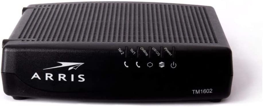 ARRlS TM1602A Touchstone Docsis 3.0 Telephony Cable Modem Compatible with TWC Optimum and Other (Renewed)