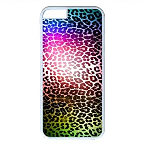 Animal Print iPhone 6 Case, Newest Fashion Colorful Leopard Print Back Cover Case for iPhone 6 - White 07 by ruishername