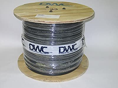 1000 Foot-12 Awg 2 Conductor 600v Flat Vntc Tray Cable Direct Burial, Sun Resistant 90c Ul Listed