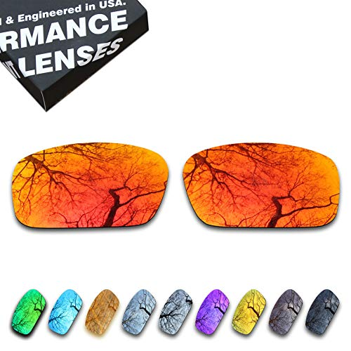 ToughAsNails Polarized Lens Replacement for Oakley Crankshaft OO9239 Sunglass - More Options