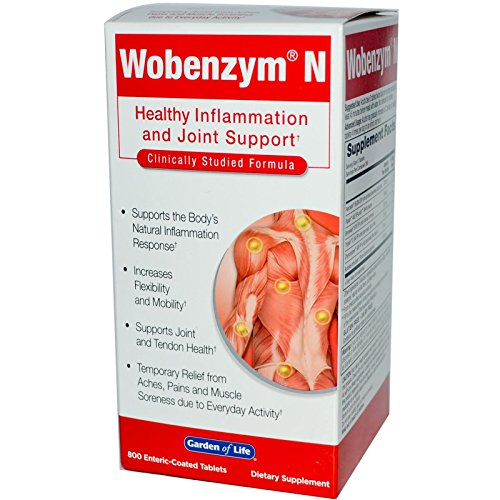 Wobenzym N 800 Count Tablets