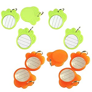 Ztl 10PCS Paw Shape Anti-Lost Pet Dog Cat ID Tag Name Address Cell Phone Number Tags Collar Pendant Accessories