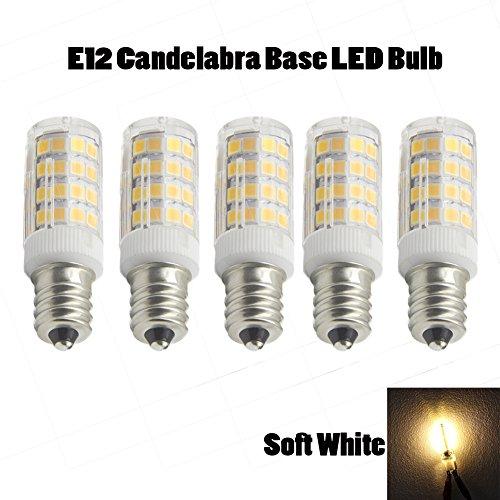 Ashialight E12 Light Bulbs- Dimmable LED Bulbs, E12 Cande...