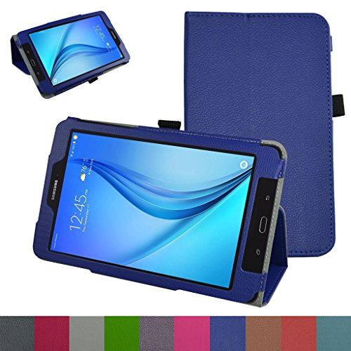 Galaxy Tab E 8.0 Case,Mama Mouth PU Leather Folio 2-folding Stand Cover with Stylus Holder for 8.0