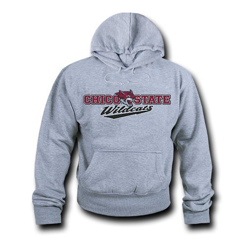 W Republic Game Day Hoodie Chico State  Heather Grey   Small