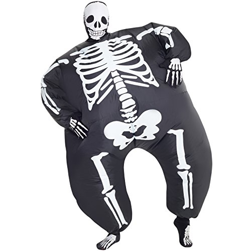 MegaMorph Skeleton Inflatable Blow Up Costume