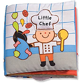 Melissa & Doug Soft Activity Baby Book - Little Chef