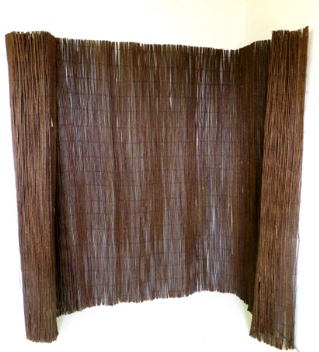Master Garden Products WF Screen, 6 by 14-Feet Willow Fencing, 6'H x 14'W, Brown ()