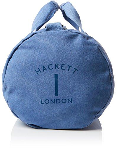 Hackett Herren Mr Classico Wshd Duffle Schultertasche, Blau (blu), 52x28.5x28.5 Centimetri