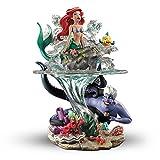 Bradford Exchange Disney The Little Mermaid Part Of Her World Ariel Sculpture