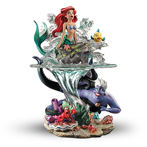 Disney The Little Mermaid Part Of Her World Ariel Sculpture by The Bradford Exchange (The Little Mermaid Ursula)