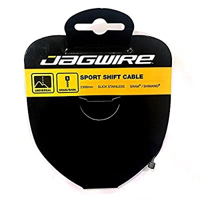 Jagwire Slick Stainless Derailleur Wire, 2300mm Shimano Head