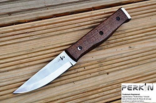 Price Cut -Custom Handmade Hunting & Bushcraft Knife Stunning Micarta Handle