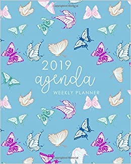 Amazon.com: 2019 Agenda Weekly Planner: Daily Weekly Monthly ...
