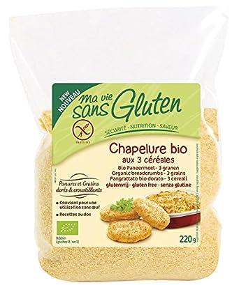 Pan rallado sin gluten Ma vie sans gluten, 220 g: Amazon.es ...